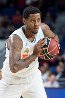 Real Madrid Trey Thompkins during Liga Endesa match between Real Madrid and Herbalife GC at Wizink Center in Madrid, Spain. December 03, 2017. (ALTERPHOTOS/Borja B.Hojas) /NortePhoto.com NORTEPHOTOMEXICO