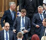 25.09.2018 Funeral service for Fernando Ricksen: Steven Gerrard