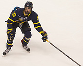 Mathieu Tibbet (Merrimack - 22) - The visiting Merrimack College Warriors defeated the Boston University Terriers 4-1 to complete a regular season sweep on Friday, January 27, 2017, at Agganis Arena in Boston, Massachusetts.The visiting Merrimack College Warriors defeated the Boston University Terriers 4-1 to complete a regular season sweep on Friday, January 27, 2017, at Agganis Arena in Boston, Massachusetts.