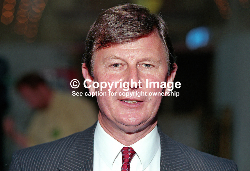 Bryan Gould, MP, Labour Party, UK, 19901003005.<br />