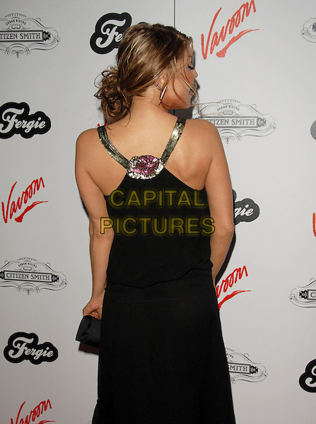 FERGIE - STACEY FERGUSON.Fergie's Birthday Party at Citizen Smith Nightclub in Hollywood, California, USA. .March 28th, 2006.Ref: DVS.Black Eyed Peas half length black dress .www.capitalpictures.com.sales@capitalpictures.com.Supplied By Capital PIctures