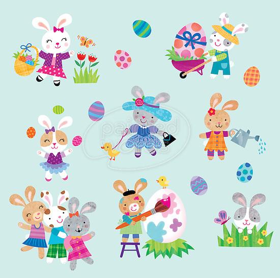 licensed by PKP- Target Easter Sticker Pack, exclusive, expires Jun 2014/Spring 2015