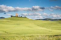 Green Fields and Tower. The Tower is actually a hotel. (Photo by Travel Photographer Matt Considine)