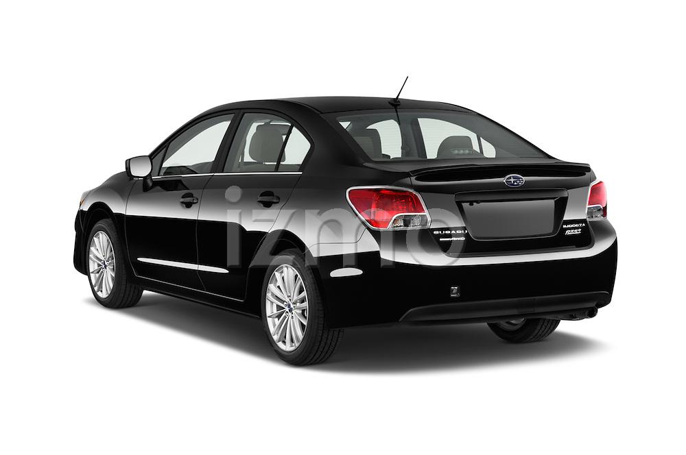 Car pictures of rear three quarter view of a 2015 Subaru Impreza 2.0I Premium Auto 4 Door Sedan Angular Rear