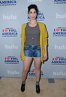 11 October  2017 - Hollywood, California - Sarah Silverman. Premiere of Hulu's &quot;I Love You, America with Sarah Silverman&quot; held at Chateau Marmont in Hollywood. <br /> CAP/ADM/BT<br /> &copy;BT/ADM/Capital Pictures