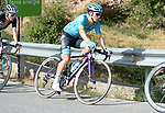 Miguel Angel Lopez (COL) Astana Pro Team climbs Sierra de la Alfaguara during Stage 4 of the La Vuelta 2018, running 162km from Velez-Malaga to Alfacar, Sierra de la Alfaguara, Andalucia, Spain. 28th August 2018.<br /> Picture: Colin Flockton   Cyclefile<br /> <br /> <br /> All photos usage must carry mandatory copyright credit (&copy; Cyclefile   Colin Flockton)