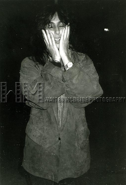 CHER   1983.NEW YORK FILM FESTIVAL.LINCOLN CENTER.© Walter McBride/WM Photography