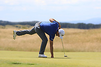 Edoardo Molinari (ITA) on the 3rd green during Round 4 of the Aberdeen Standard Investments Scottish Open 2019 at The Renaissance Club, North Berwick, Scotland on Sunday 14th July 2019.<br /> Picture:  Thos Caffrey / Golffile<br /> <br /> All photos usage must carry mandatory copyright credit (© Golffile | Thos Caffrey)