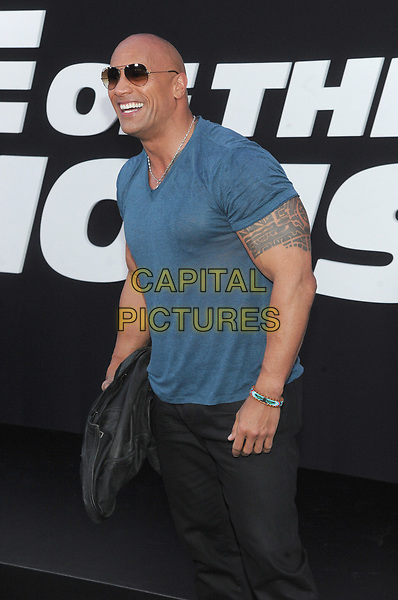 NEW YORK, NY - APRIL 08:Dwayne Johnson attends 'The Fate Of The Furious' New York premiere at Radio City Music Hall on April 8, 2017 in New York City. <br /> CAP/MPI/JP<br /> &copy;JP/MPI/Capital Pictures