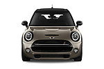 Car photography straight front view of a 2018 Mini MINI Cooper S Chilli 5 Door Hatchback