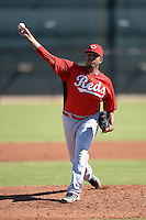 Cincinnati Reds pitcher Soid Marquez (74) during an instructional league game against the Cleveland Indians on September 28, 2013 at Goodyear Training Complex in Goodyear, Arizona.  (Mike Janes/Four Seam Images)