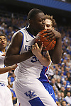 UK forward Julius Randle and Boise State guard/forward Anthony Drmic fighting for the ball during the second half of the UK basketball game vs. Boise State on Tuesday, December 10, 2013, in Lexington, Ky. Photo by Kalyn Bradford | Staff