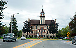 Flathead County building in Kalispell, Montana