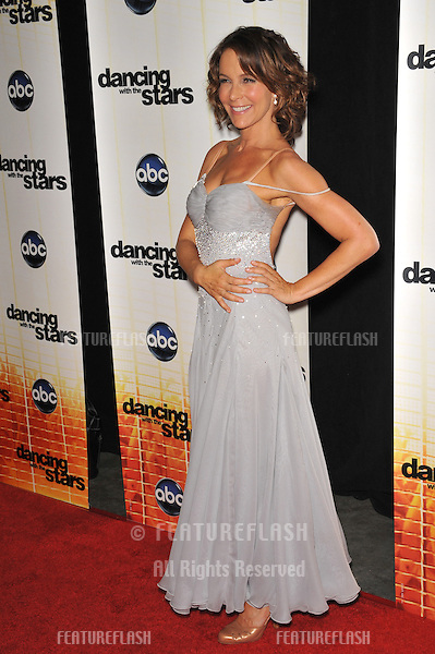 Jennifer Grey at the Season 11 premiere of ABC's Dancing With The Stars at CBS Television City, Los Angeles..September 20, 2010  Los Angeles, CA.Picture: Paul Smith / Featureflash