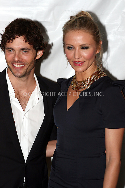 WWW.ACEPIXS.COM . . . . .  ....November 4 2009, New York City....Actors James Marsden and Cameron Diaz arriving at the New York premiere of 'The Box' at AMC Lincoln Square 13 on November 4, 2009 in New York City.....Please byline: NANCY RIVERA- ACE PICTURES.... *** ***..Ace Pictures, Inc:  ..tel: (212) 243 8787 or (646) 769 0430..e-mail: info@acepixs.com..web: http://www.acepixs.com