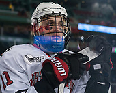 Jake Schechter (NU - 11) - The Northeastern University Huskies and University of New Hampshire Wildcats tied 2-2 on Saturday, January 14, 2017, at Fenway Park in Boston, Massachusetts.