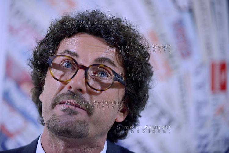 Roma, 2 Agosto 2017<br /> Danilo Toninelli<br /> il Movimento 5 Stelle presenta alla Stampa estera la nuova versione della piattaforma Rousseau con Davide Casaleggio