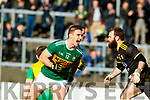 Stephen O'Brien Kerry celebrates his side's first goal against  Donegal in the Allianz Football League Division 1 Round 1 match between Kerry and Donegal at Fitzgerald Stadium in Killarney, Co. Kerry.