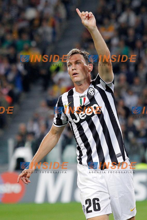 Stephan Lichtsteiner Juventus, <br /> Torino 02-10-2013<br /> Juventus Stadium <br /> Football Calcio 2013/2014 Champions League <br /> Juventus - Galatasaray<br /> Foto Marco Bertorello Insidefoto