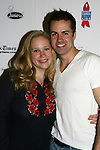 GL - Caitlin Van Zandt and John Driscoll at 22nd Annual Broadway Flea Market & Grand Auction to benefit Broadway Cares/Equity Fights Aids on Sunday, September 21, 2008 in Shubert Alley, New York City, New York. (Photo by Sue Coflin/Max Photos)