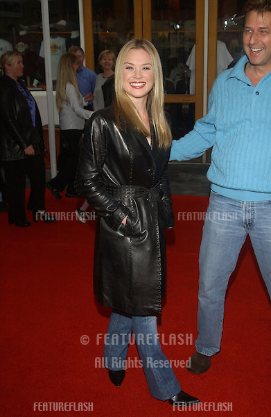 Actress LAUREN WOODLAND at the world premiere, in Hollywood, of Dr. Suess' The Cat in the Hat..November 8, 2003