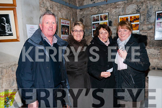 All for me Grog:Attending  the Liberties folk group performance  at St. John's Arts Centre, Listowel on Friday night last were Pat & Joan Carmody, Mary Sobieralski & Miraim Kiely, Listowel.