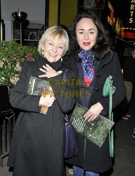 LONDON, ENGLAND - FEBRUARY 27: Sheila Reid &amp; Samantha Spiro attend the &quot;Ghost Stories&quot; press night, The Arts Theatre, Great Newport St., on Thursday February 27, 2014 in London, England, UK.<br /> CAP/CAN<br /> &copy;Can Nguyen/Capital Pictures