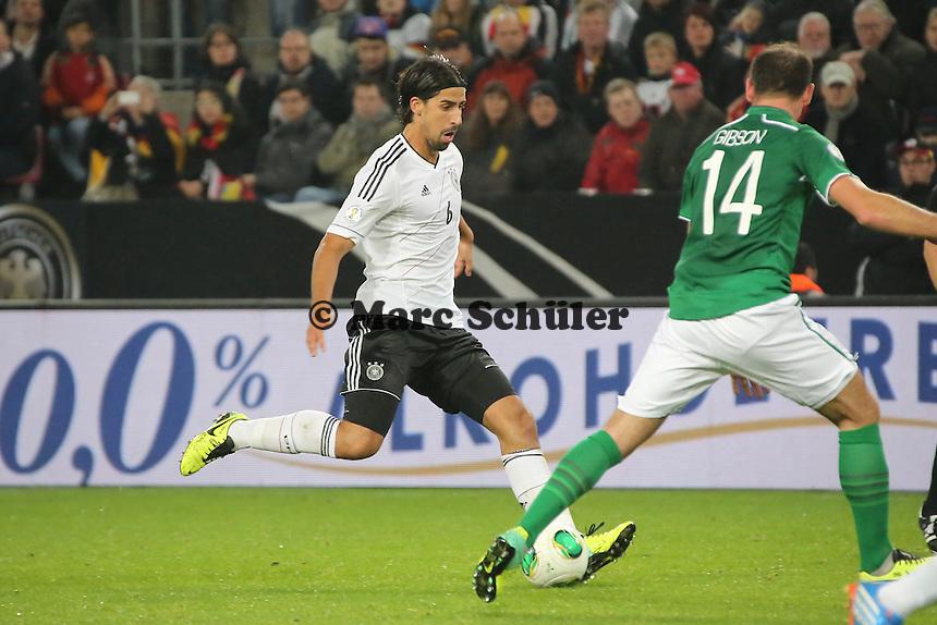 Sami Khedira (D) - WM Qualifikation 9. Spieltag Deutschland vs. Irland in Köln