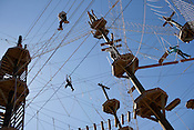The Discovery High Ropes Course was open to the public on Saturday at Bethesda Park. The three-story, 55-foot high structure is managed by Durham Parks and Recreation.....