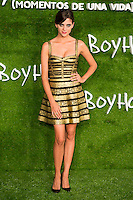 "Macarena Gonzalez attend the photocall of the Premiere of the movie ""Boyhood"" at the Cineteca in Madrid, Spain. September 09, 2014. (ALTERPHOTOS/Carlos Dafonte)"