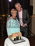 Kenneth McGuirk celebrating his 70th birthday in the Thatch with his wife Eileen. Photo:Colin Bell/pressphotos.ie