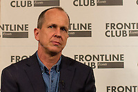 "19.02.2015 - Peter Greste of the ""Al Jazeera Three"" at the Frontline Club - #FreeAJStaff"