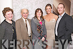 Pictured at the Kerins ORahillys social in the Earl of Desmond Hotel on Saturday night, from left: Margaret OConnor, John Mangan, Joan Moriarty, Clodagh Hurley and David OConnor.