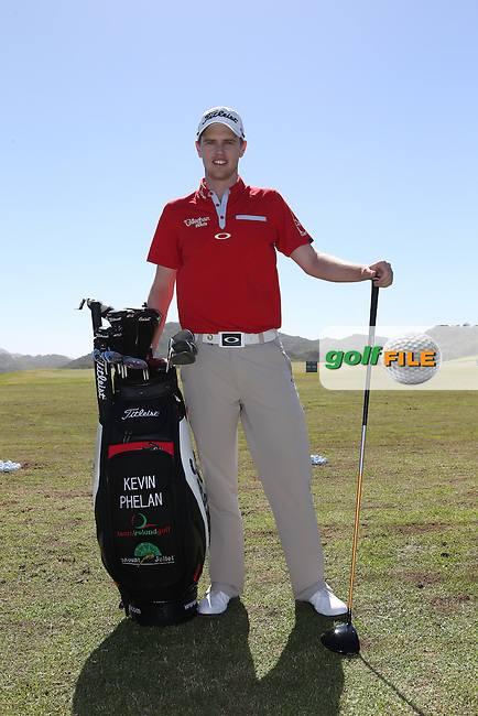 Kevin Phelan (IRL) on the range ahead of the Africa Open 2015 at the East London Golf Club, East London, Eastern Cape, South Africa. Picture:  David Lloyd / www.golffile.ie. 03/03/2015