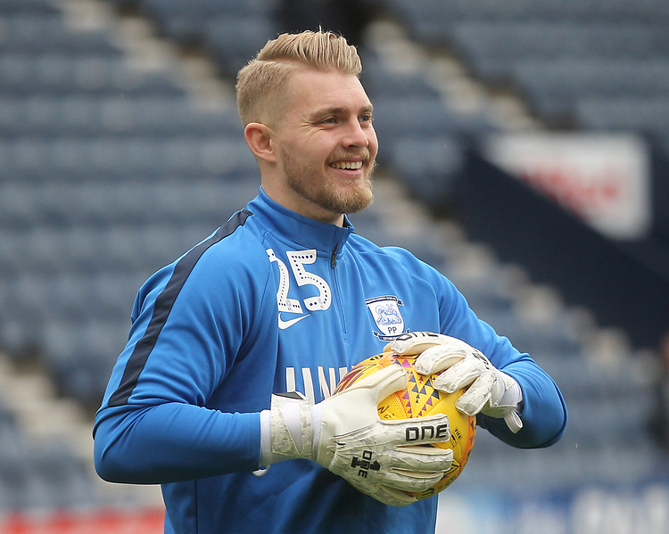 Preston North End's Connor Ripley<br /> <br /> Photographer Mick Walker/CameraSport<br /> <br /> The EFL Sky Bet Championship - Preston North End v Swansea City - Saturday 12th January 2019 - Deepdale Stadium - Preston<br /> <br /> World Copyright &copy; 2019 CameraSport. All rights reserved. 43 Linden Ave. Countesthorpe. Leicester. England. LE8 5PG - Tel: +44 (0) 116 277 4147 - admin@camerasport.com - www.camerasport.com