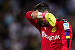Borussia Dortmund goalkeeper Roman Burki reacts during the match against Manchester City FC at the 2016 International Champions Cup China match at the Shenzhen Stadium on 28 July 2016 in Shenzhen, China. Photo by Victor Fraile / Power Sport Images