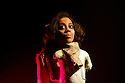 London, UK. 14.12.2012. Conspirators' Kitchen presents GOLGOTHA by Nirjay Mahindru. Directed by Iqbal Khan, the play runs from 14th November to 8th December 2012. Picture shows:  Anjana Vasan (Loretta). Photo credit: Jane Hobson.