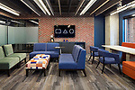 Brick House Blue Furniture Installation | Kimball