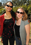 Adaeze Okeke and Valerie Walter at the Beastly Brunch at the Houston Zoo Sunday Feb. 28,2010. (Dave Rossman Photo)