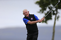 Michael Ahern (Limerick) on the 12th tee during the final round of the All Ireland Four Ball Interclub Final, Roe Park resort, Limavady, Derry, Northern Ireland. 15/09/2019.<br /> Picture Fran Caffrey / Golffile.ie<br /> <br /> All photo usage must carry mandatory copyright credit (© Golffile | Fran Caffrey)