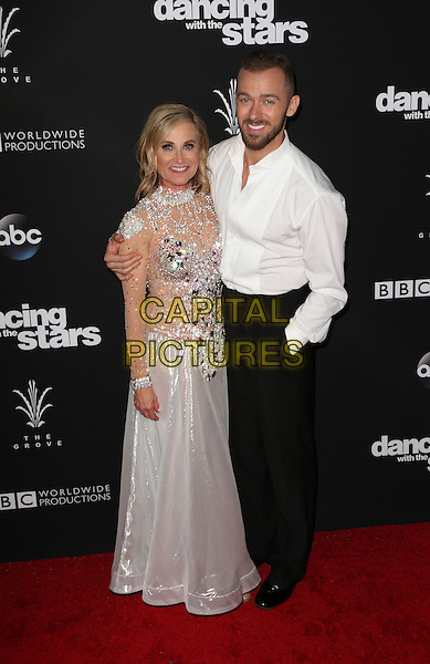 Los Angeles, CA - NOVEMBER 22: Maureen McCormick, Artem Chigvintsev, At ABC's &quot;Dancing With The Stars&quot; Season 23 Finale At The Grove, California on November 22, 2016. <br /> CAP/MPI/FS<br /> &copy;FS/MPI/Capital Pictures
