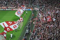 FUSSBALL   CHAMPIONS LEAGUE   SAISON 2011/2012     27.09.2011 FC Bayern Muenchen - Manchester City Stadionuebersicht Allianz-Arena Muenchen, Suedtribuene