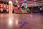 Reopening of the official Atletico de Madrid store in the Wanda Metropolitano Stadium with the mandatory hygiene and safety measures in Phase 1 of unconfinement in Spain during the health crisis due to the Covid-19 virus pandemic - Coronaviruss. May 25,2020.(ALTERPHOTOS/Atletico de Madrid/Pool)