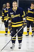 Stephane Da Costa (Merrimack - 24) - The Merrimack College Warriors defeated the visiting Sweden Under 20 team 4-1 on Tuesday, November 2, 2010, at Lawler Arena in North Andover, Massachusetts.