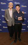 John Guare and Trip Cullman attend the 'Six Degrees Of Separation' Cast Meet & Greet at The New 42nd Street Studios on March 1, 2017 in New York City.