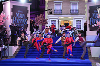 "performers<br /> arriving for the ""Mary Poppins Returns"" premiere at the Royal Albert Hall, London<br /> <br /> ©Ash Knotek  D3467  12/12/2018"
