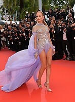 """Natasha Poly at the gala screening for """"BLACKKKLANSMAN"""" at the 71st Festival de Cannes, Cannes, France 14 May 2018<br /> Picture: Paul Smith/Featureflash/SilverHub 0208 004 5359 sales@silverhubmedia.com"""