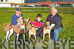 SUNNY DAY: What a warm day for the Kingdom Cup on Sunday at Ballybeggan Park, Tralee for Mike McCarthy (Listowel), Eamon Dowling.(Kilmoyley) and Pat McCarthy (Listowel)............