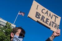 2020/05/30 Politik   Berlin   George Floyd   Protest vor US-Botschaft