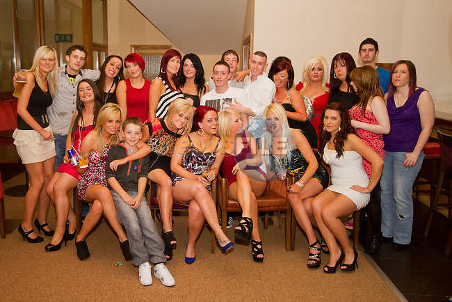 Donna Gorman's 21st in the Thatch..Picture: Shane Maguire / www.newsfile.ie